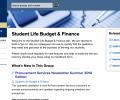 New finance website