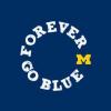 forever go blue logo